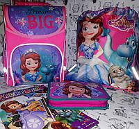 Набор для Девочки Sofia Софиярюкзак Little Star , пенал , сумка для обуви + Раскраска А4 , фото 1