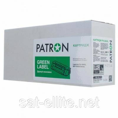 Картридж PATRON HP LJ CF217A GREEN Label (PN-17AGL)