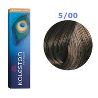 Краска для волос Wella Koleston Perfect № 5/00 (cветло коричневый натуральный) - pure naturals
