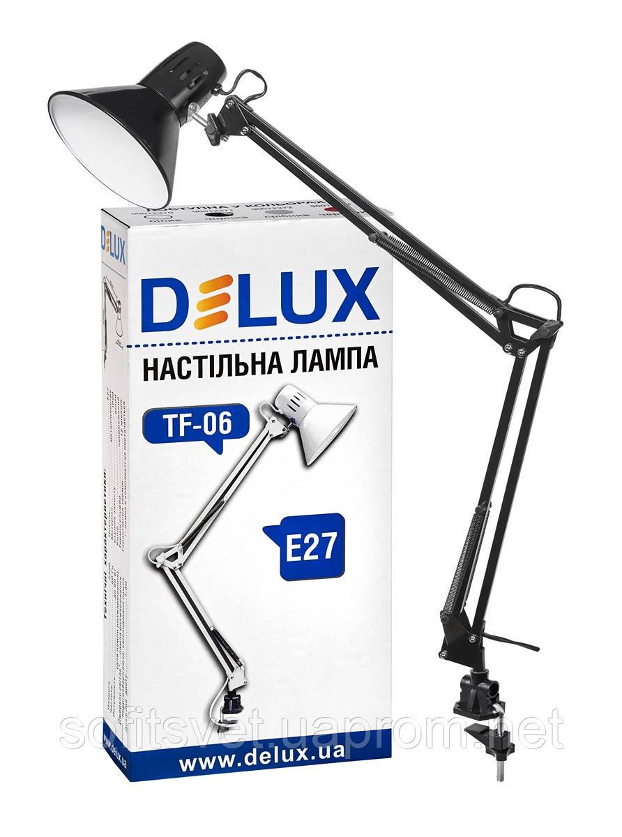Настольная лампа DELUX TF-06 черная
