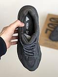 Мужские кроссовки Adidas yeezy boost 700 Static v2 black, фото 2