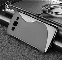 Чехол S-Line на телефон Samsung Galaxy J2 J200 2015 силикон для самсунг гелекси ТПУ