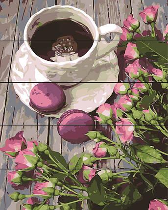 PREMIUM Картина по номерам на дереве 40х50 см. Весенний натюрморт Rainbow Art, фото 2