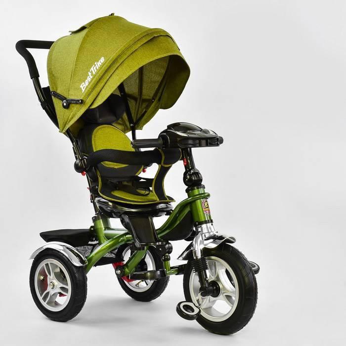 Трехколесный велосипед Best Trike 5890 - 3297 с надувными колесами