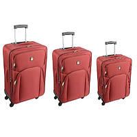 Комплект чемоданов Skyflite Spirit Burgundy (S/M/L) 3шт