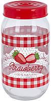 Банка 1л HEREVIN Strawberry 171541-058