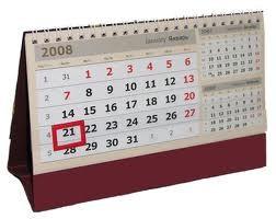 Календарь настольный Домик с готовыми перекидными листами