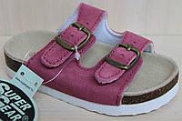 Детская летняя обувь, детские ортопедические шлепанцы для девочки тм Super Gear р. 24