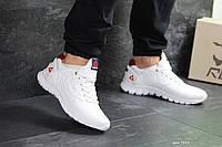 Кожаные кроссовки Reebok Sublite, белые, мужские