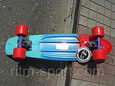 Пенни борд (Penny) мини скейтборд мультиколор, фото 3