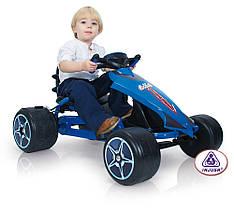 Педальный карт веломобиль Go Kart Injusa Flecha Blue 413
