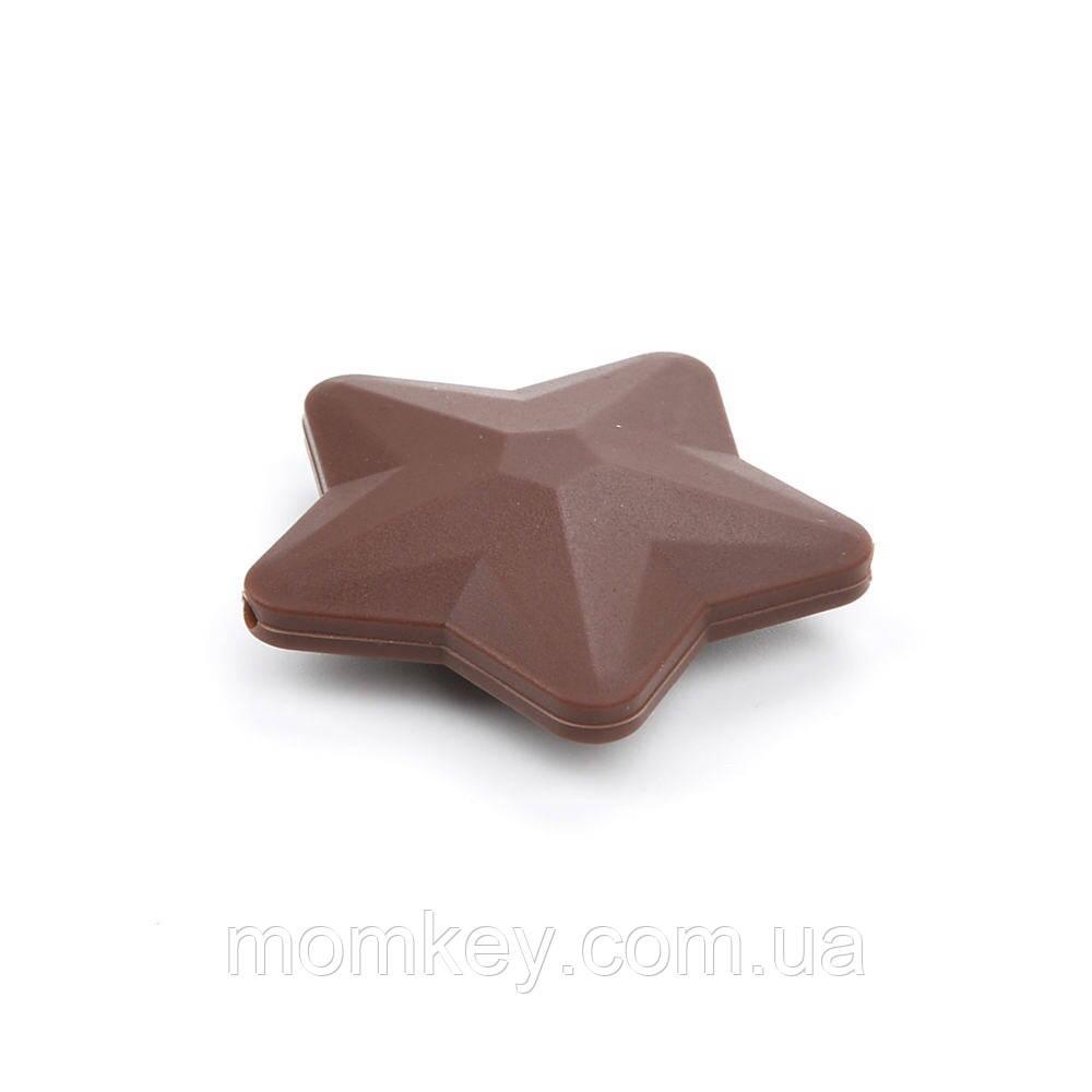 Зірочка 45*45 мм (коричневий)