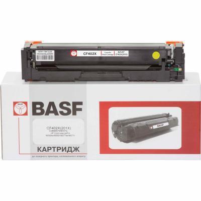 Картридж BASF для HP LJ M252/M277 аналог CF402X Yellow (KT-CF402X)
