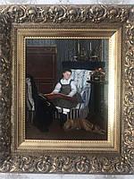 Картина За чтением Кабелло-Лассаль 19 век