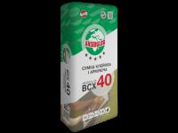 Смесь  клеевая для системы утепления ANSERGLOB BCX 40