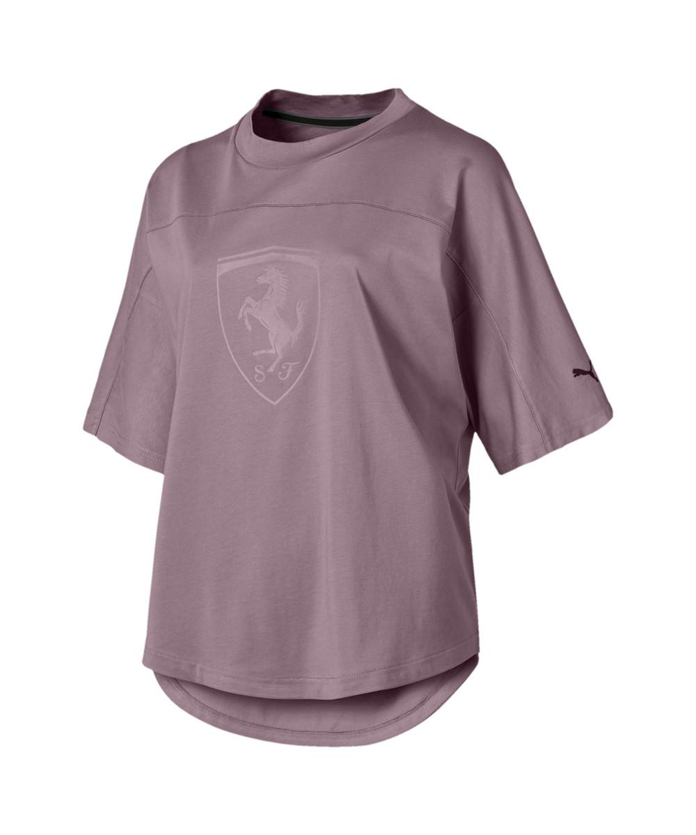Женская спортивная футболка Ferrari Wmn Big Shield Tee