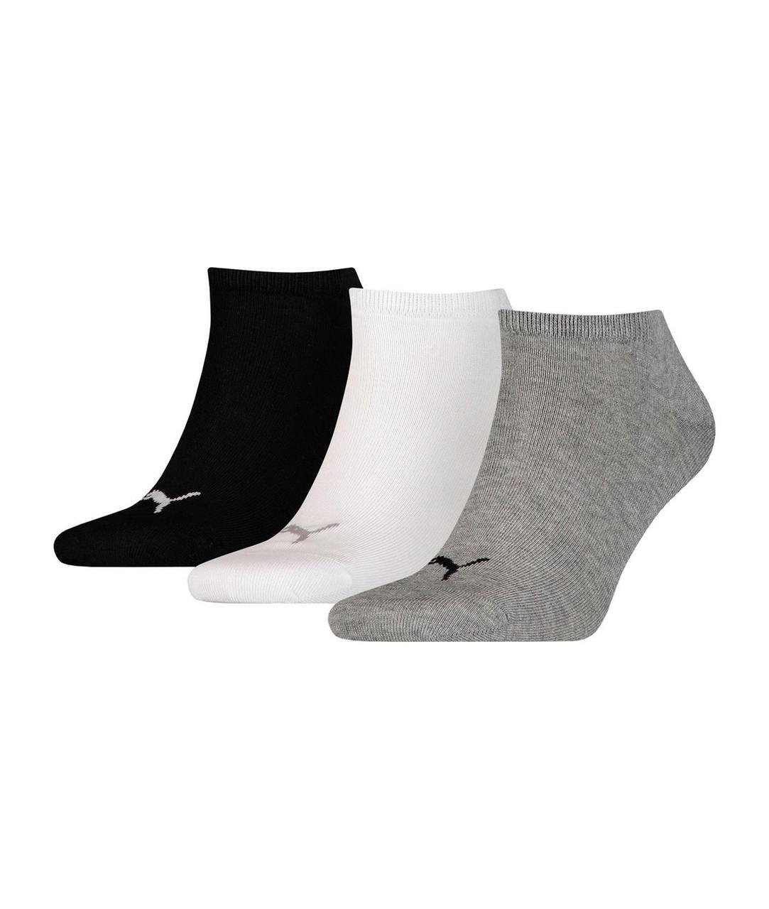 Мужские носки Puma Unisex Sniker Plain 3P