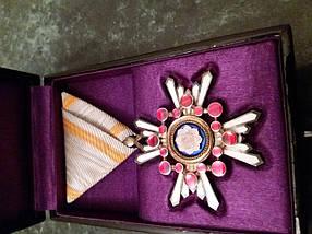Орден Священого сокровища. Япония. V степени