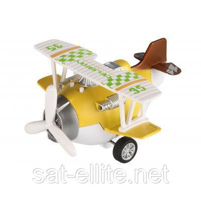 Спецтехника Same Toy Самолет металический инерционный Aircraft (SY8016AUt-1), фото 1