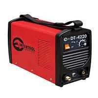 Сварочный инвертор для аргоно-дуговой сварки 230В, 4.5кВт, 10-200А, Intertool DT-4220