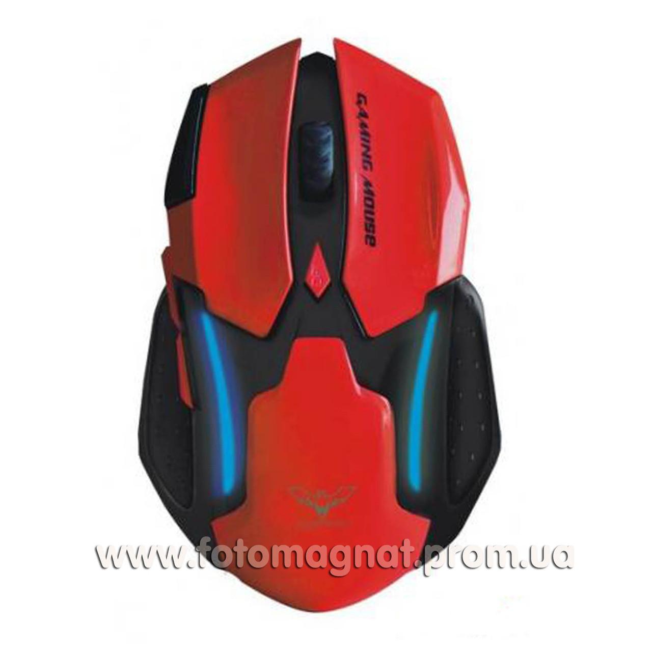 Игровая мышь проводная  HAVIT HV-MS868  USB red