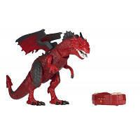 Интерактивная игрушка Same Toy Динозавр Dinosaur Planet Дракон красный со светом и звуком (RS6139AUt), фото 1