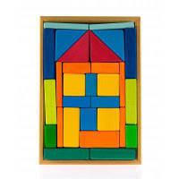 Конструктор nic деревянный Дом (NIC523276)