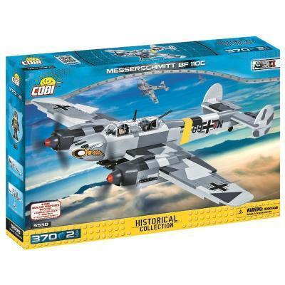 Конструктор Cobi Вторая Мировая Война Самолет Мессершмитт BF-110, 370 деталей (5902251055387)