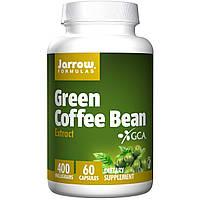 Кофе для похудения зеленый  экстракт Jarrow Formulas 400 мг 60 капсул