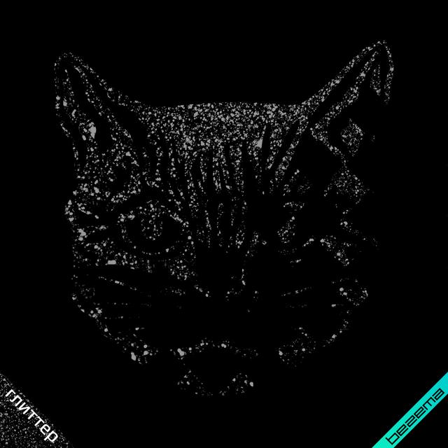 Термонаклейки на кюлоти Кіт [Свій розмір і матеріали в асортименті]