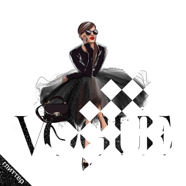 Термоаппликации зі страз на куртки Vogue