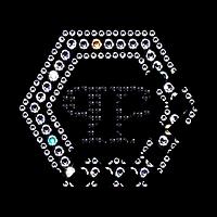 Наклейки на кеды Логотип (Стекло, ss 16 кристалл, ss6 кристалл, ss6 чёрный)