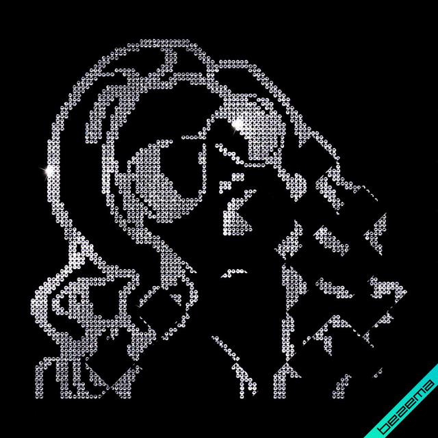Аппликации на сапоги Девушка (Стекло, 2мм кристалл)
