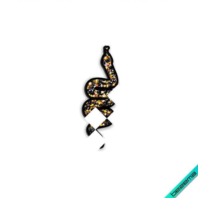 Наклейки на фатин Змея