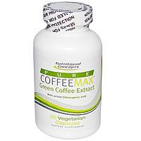 Кофе для похудения зеленый  экстракт Nutritional Concepts 400 мг 60 капсул