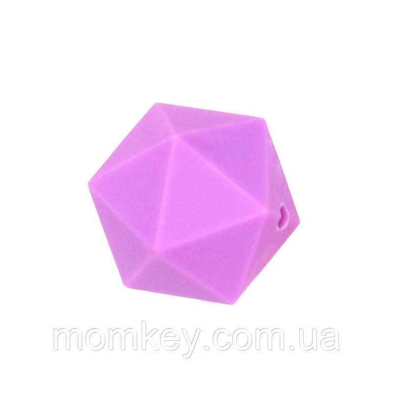 Ікосаедр 17 мм (фіолетовий)