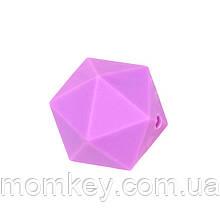 Икосаэдр 17 мм (фиолетовый)