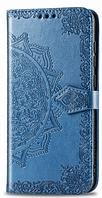 Кожаный-чехол книжка с орнаментом для Samsung A105F Galaxy A10 (6 цвета)