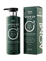 Шампунь для волос c зеленым чаем AOMI Green Tea Sap, 500 ml