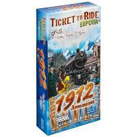 Настольная игра Hobby World Ticket to Ride: Европа 1912 (дополнение) (1626)