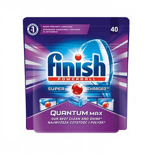 Таблетки для посудомоечных машин FINISH Quantum 40 шт (5011417548110)