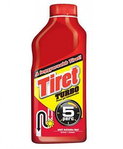 Средство для устранения и профилактики засоров в канализационных трубах Tiret Turbo 500 мл (59973217418