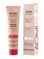 Эссенция для кудрявых волос AOMI Green Tea Extract Curling Essence