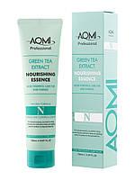 Эссенция для поврежденных волос AOMI Green Tea Extract Nourishing Essence