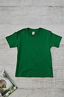 Футболка детская зеленая размер XS ANVIL
