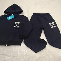 Синий цвет ,98-128 Оптом детские спортивные костюмы
