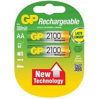 Аккумулятор GP AA R6 2500mAh 1,2V * 2 (GP210AAHC-2UEC2)