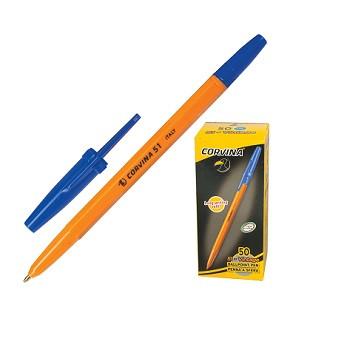 Ручка шариковая синяя Corvina 51 ш.к.6935777698539