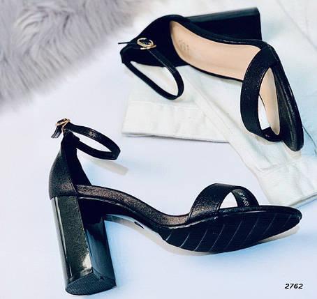 Босоножки на каблуке, фото 2
