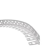 Профиль для гипсокартона угловой арочный пластиковый (3 м)